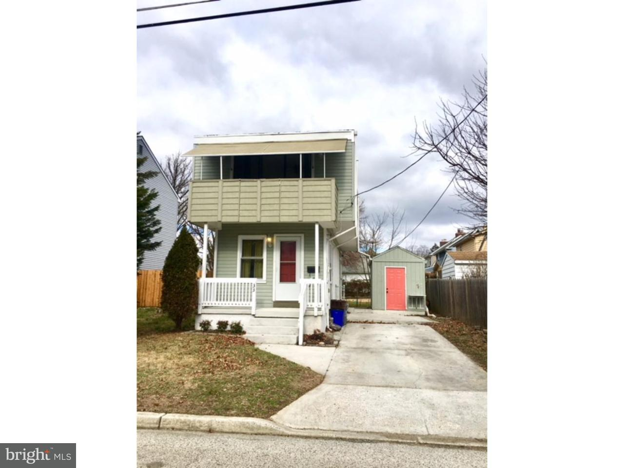 Single Family Home for Rent at 33 SPRUCE Street Merchantville, New Jersey 08109 United States