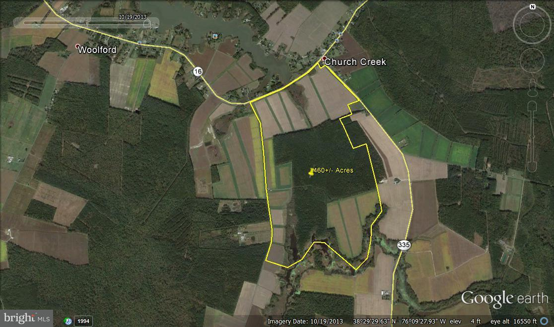 Land for Sale at TAYLORS ISLAND Road TAYLORS ISLAND Road Woolford, Maryland 21677 United States