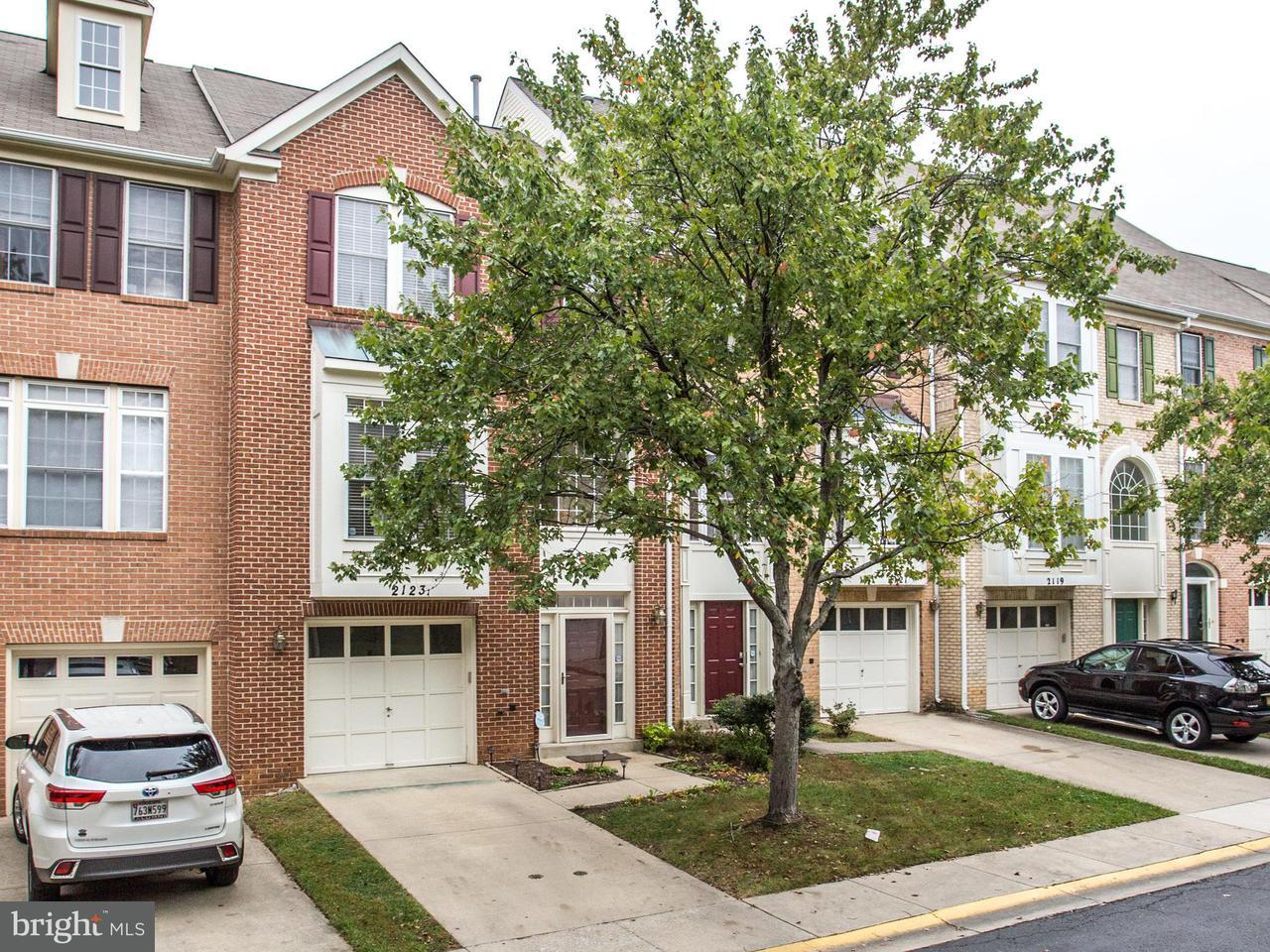 タウンハウス のために 売買 アット 2123 Chippewa Place 2123 Chippewa Place Silver Spring, メリーランド 20906 アメリカ合衆国