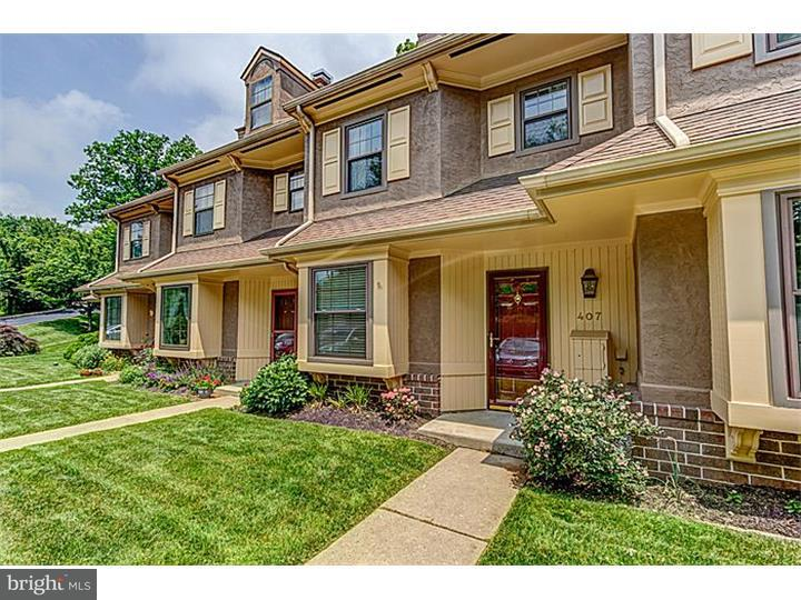 Maison accolée pour l à louer à 407 EAGLE Road Wayne, Pennsylvanie 19087 États-Unis