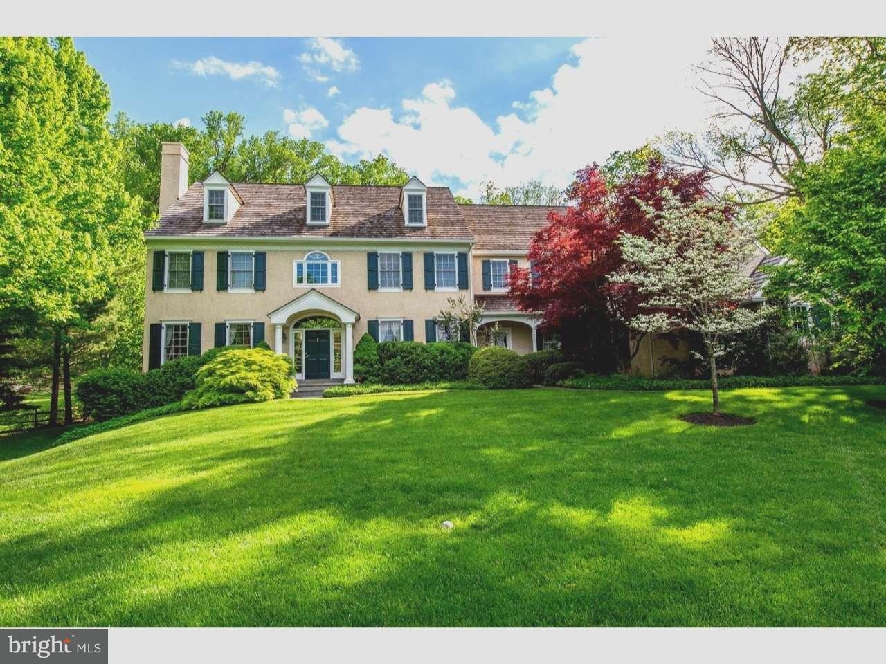Casa Unifamiliar por un Venta en 109 OVERLOOK Lane Wayne, Pennsylvania 19087 Estados Unidos