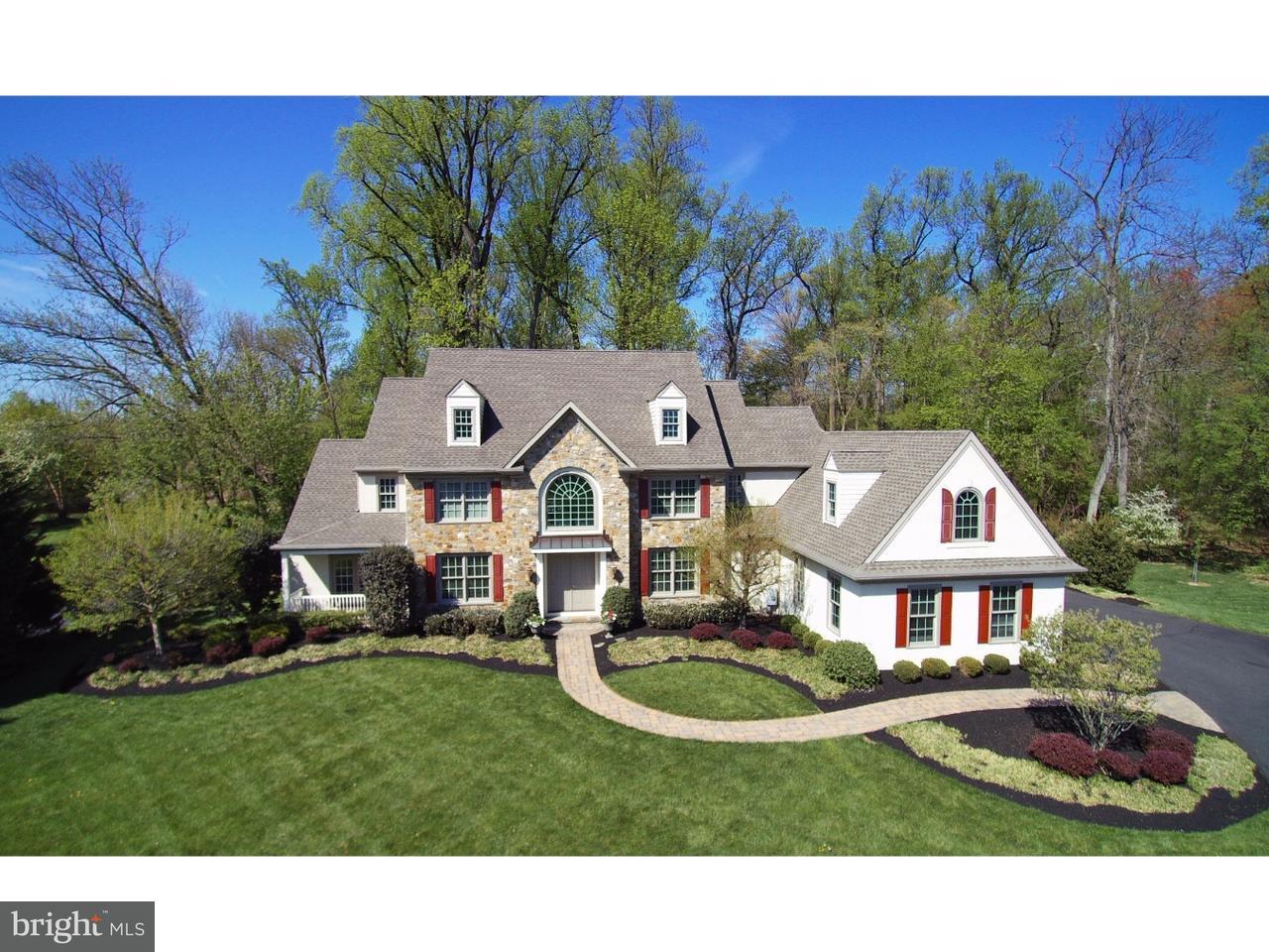Maison unifamiliale pour l Vente à 2113 DEEP MEADOW Lane Worcester, Pennsylvanie 19446 États-Unis