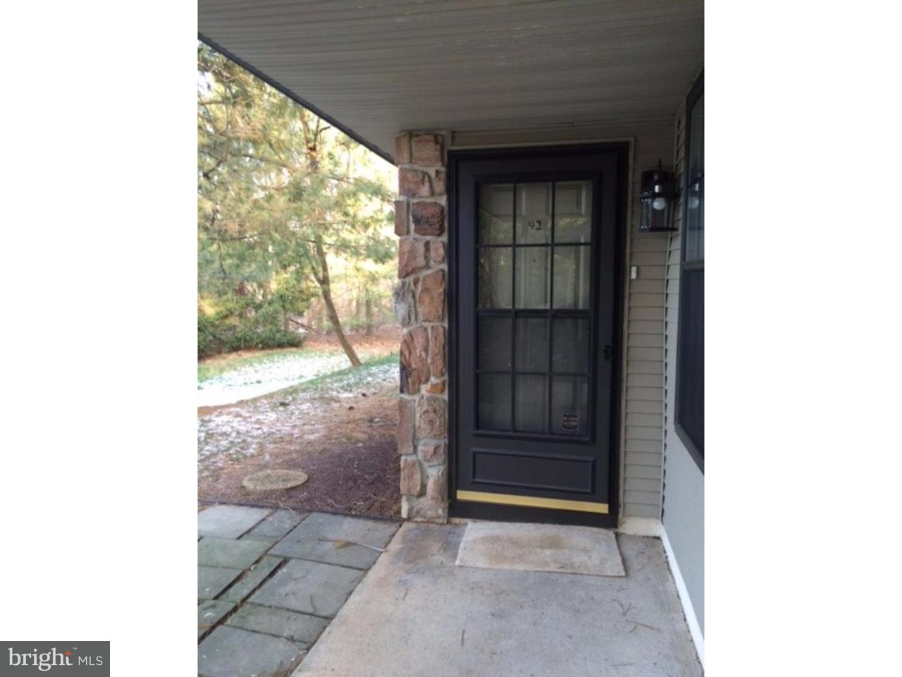 Single Family Home for Rent at 92 BASSWOOD Court Warrington, Pennsylvania 18976 United States