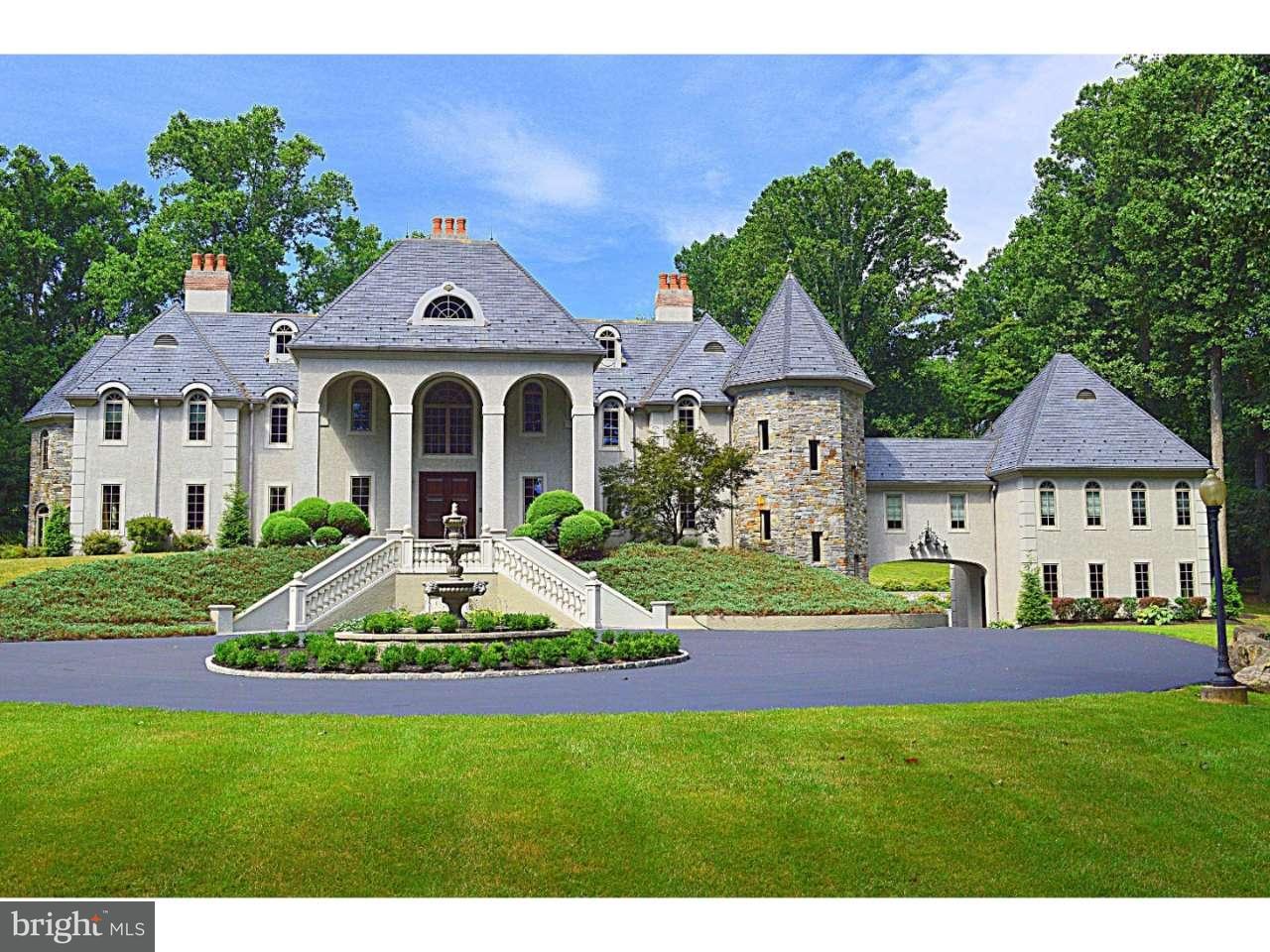 Maison unifamiliale pour l Vente à 708 HILLVIEW Road Malvern, Pennsylvanie 19355 États-Unis