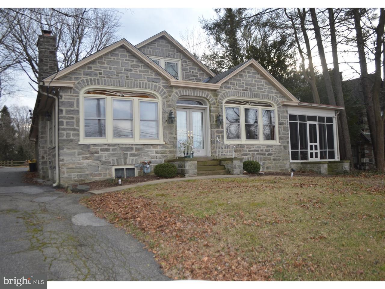 Частный односемейный дом для того Аренда на 1311 BALTIMORE PIKE Springfield, Пенсильвания 19064 Соединенные Штаты