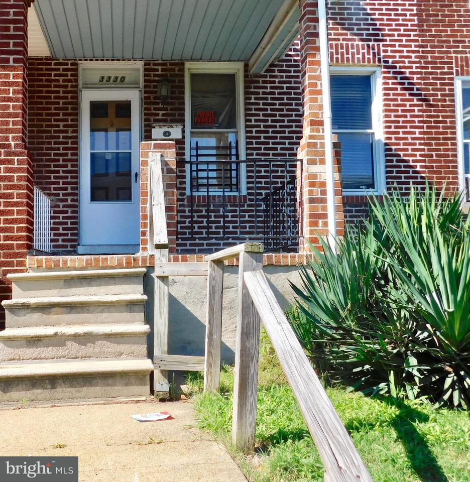 Single Family for Sale at 3330 Ravenwood Ave Baltimore, Maryland 21213 United States