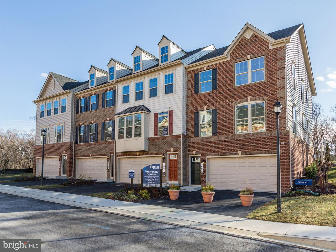 Townhouse for Sale at 1605 Regent Manor Court 1605 Regent Manor Court Silver Spring, Maryland 20904 United States