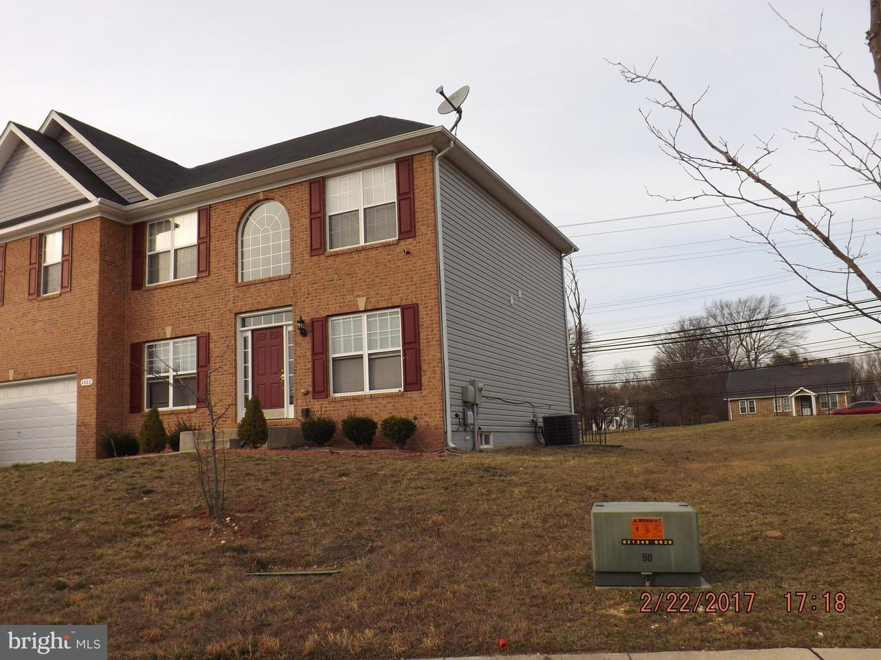 Maison unifamiliale pour l Vente à 4802 FAITH CROSSING Court 4802 FAITH CROSSING Court Temple Hills, Maryland 20748 États-Unis
