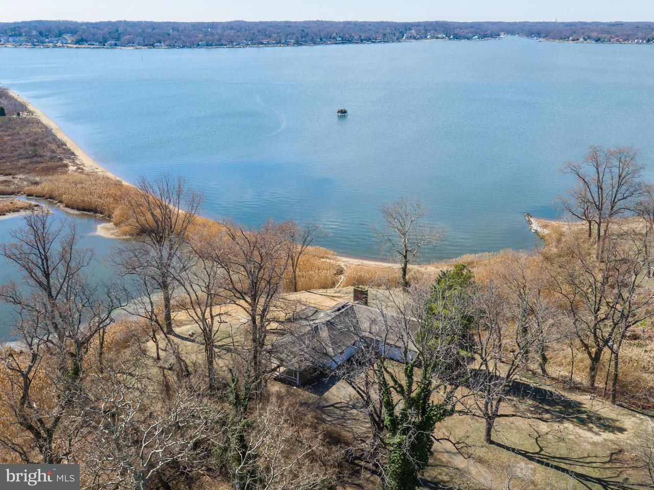 Single Family for Sale at 766 Skywater Rd Gibson Island, Maryland 21056 United States