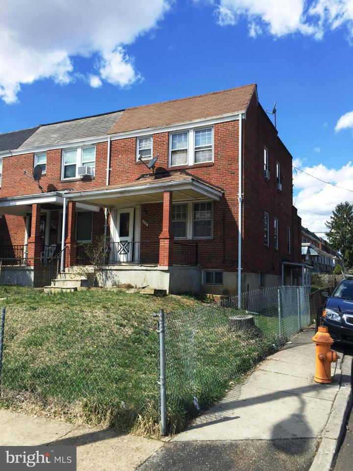 Single Family for Sale at 3800 Hayward Ave Baltimore, Maryland 21215 United States