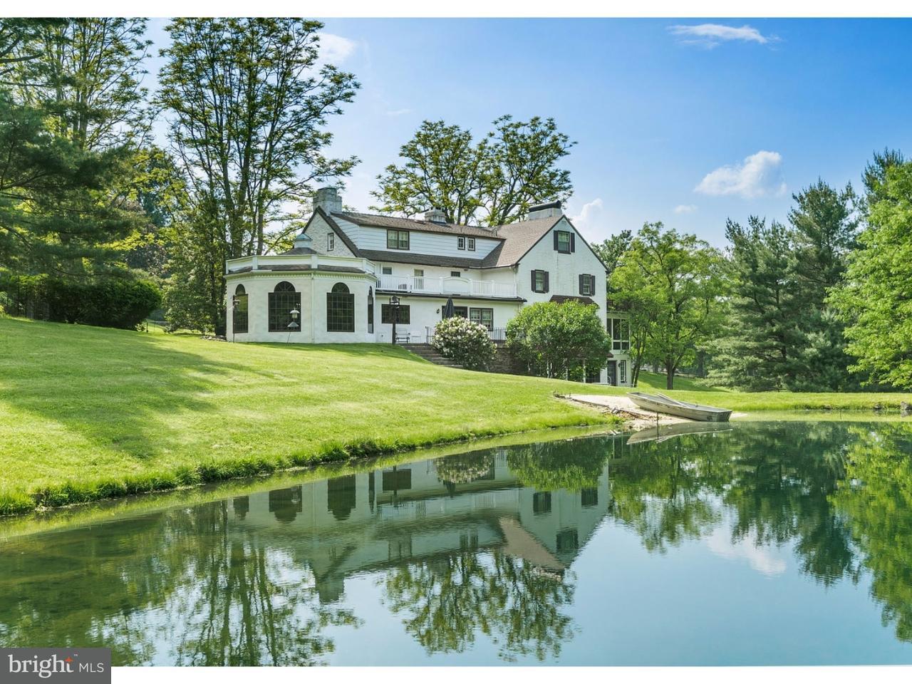 Частный односемейный дом для того Продажа на 220 HILL Road Elverson, Пенсильвания 19520 Соединенные Штаты