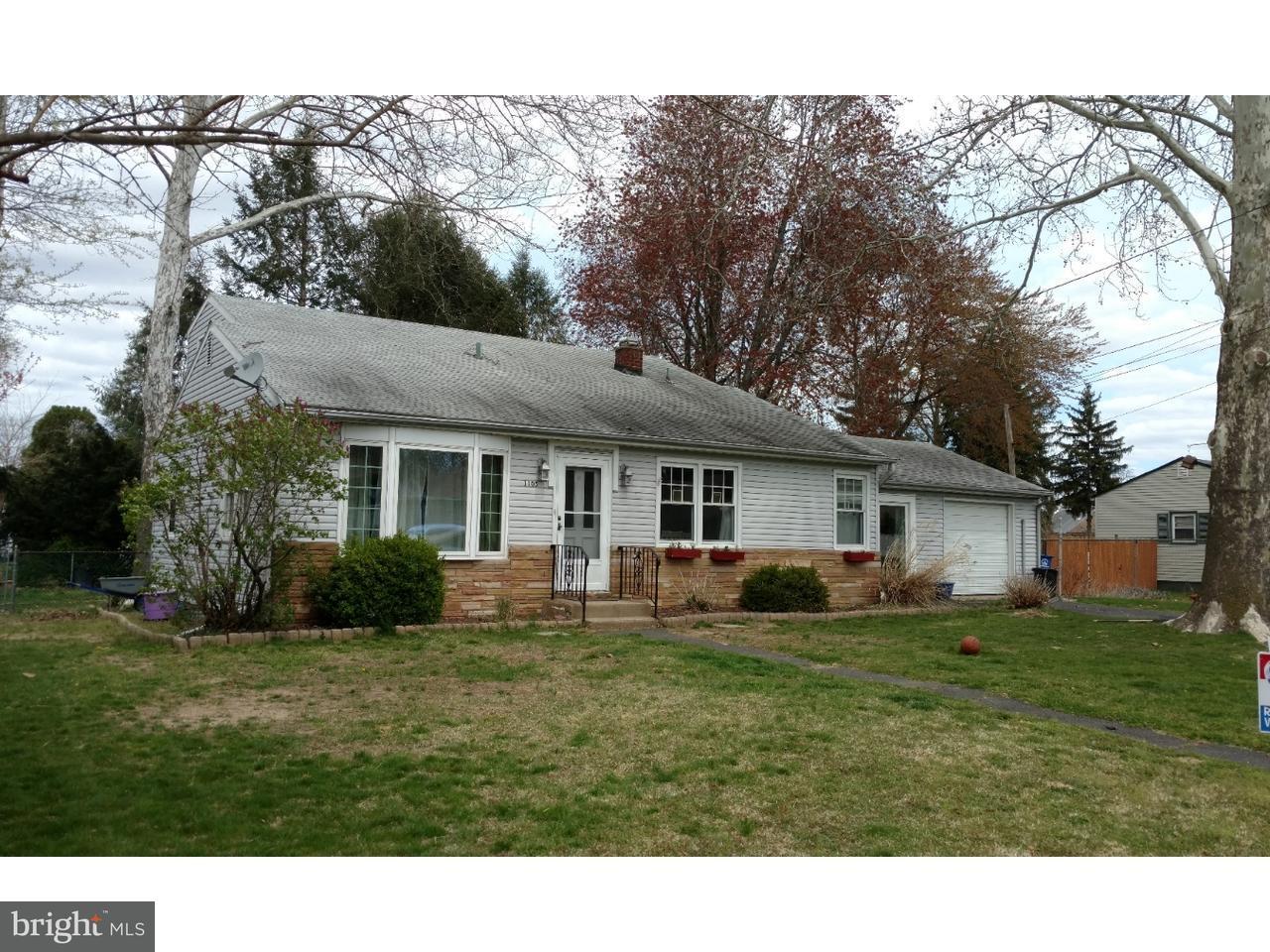 Einfamilienhaus für Verkauf beim 1105 PUTNUM Street Beverly, New Jersey 08010 Vereinigte Staaten