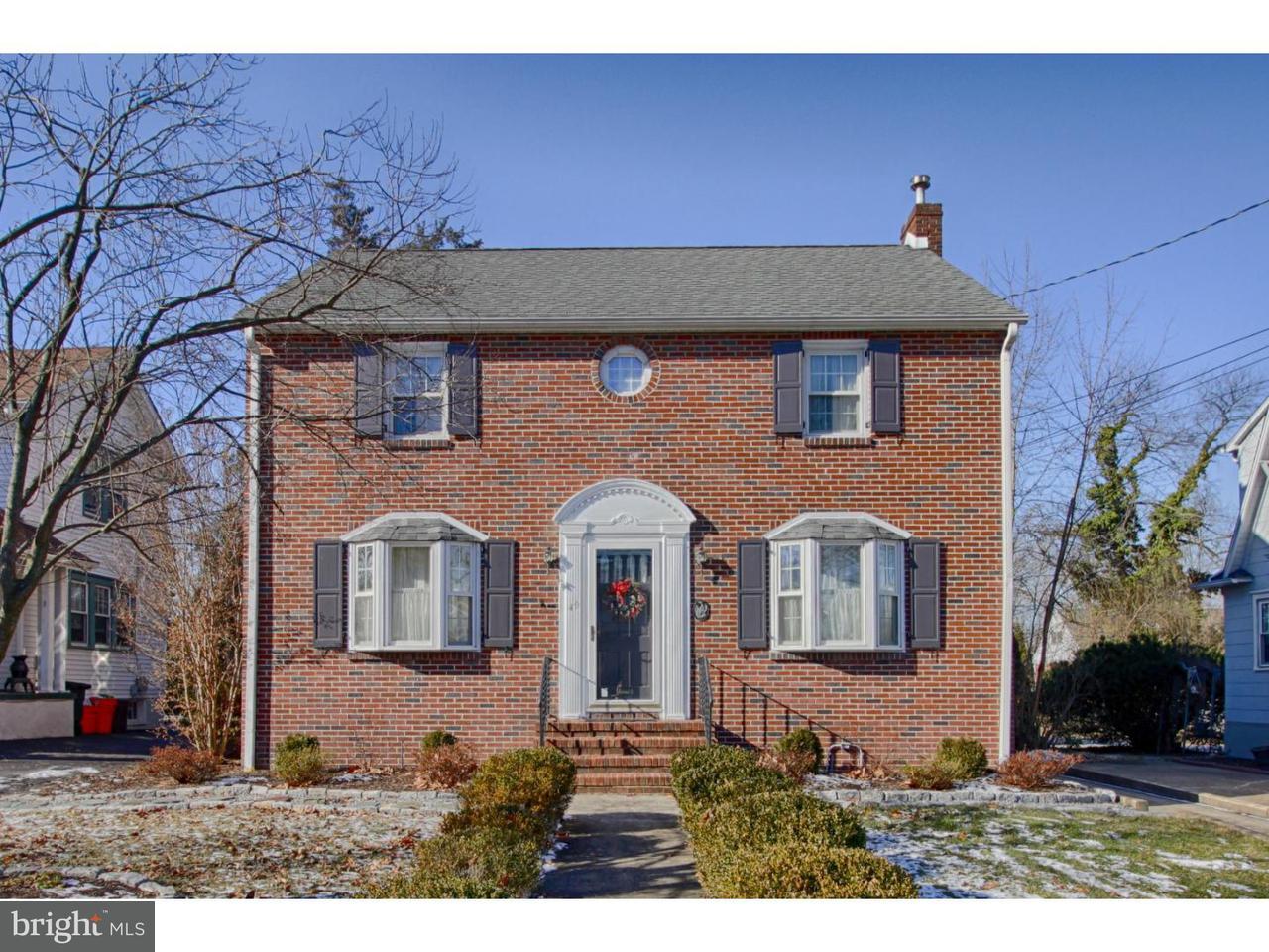 Частный односемейный дом для того Продажа на 49 STRAWBRIDGE Avenue Haddon Township, Нью-Джерси 08108 Соединенные Штаты