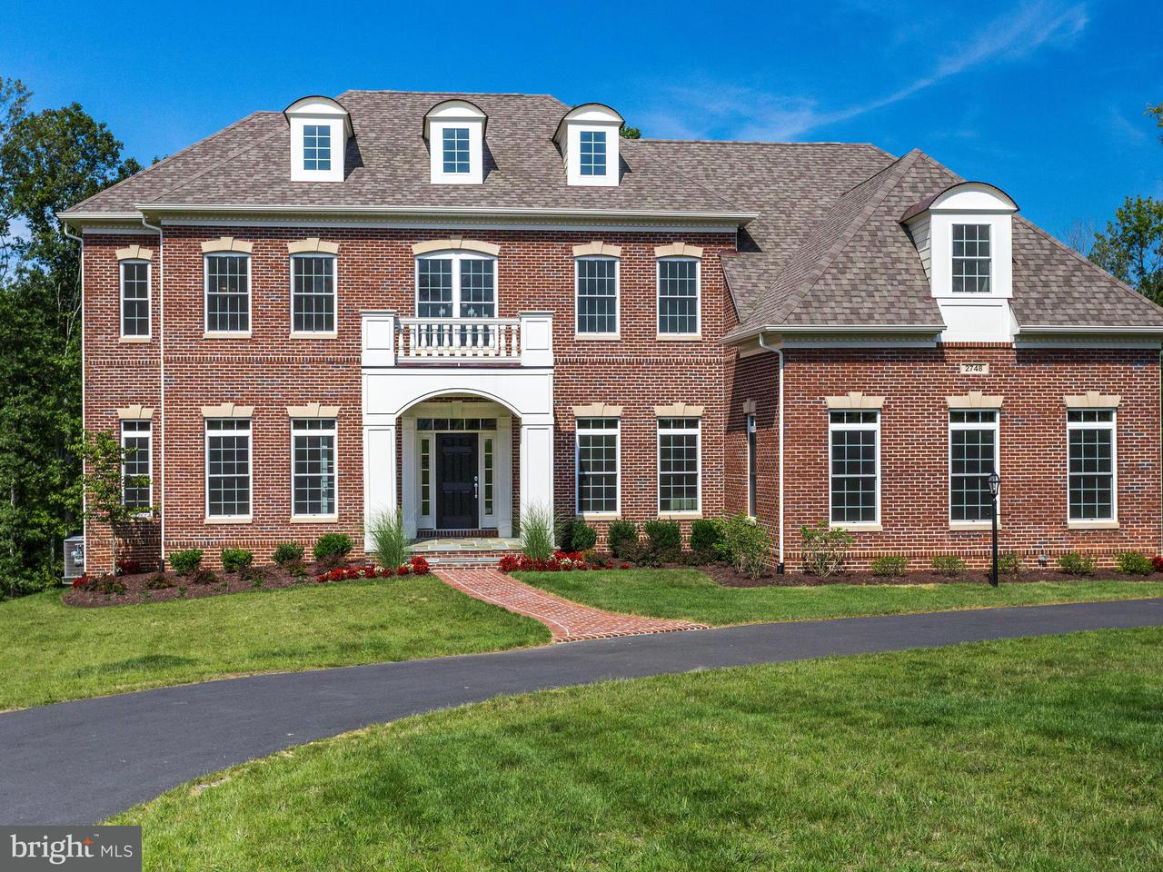 Maison unifamiliale pour l Vente à 2748 STREAM VISTA Court 2748 STREAM VISTA Court Oakton, Virginia 22124 États-Unis