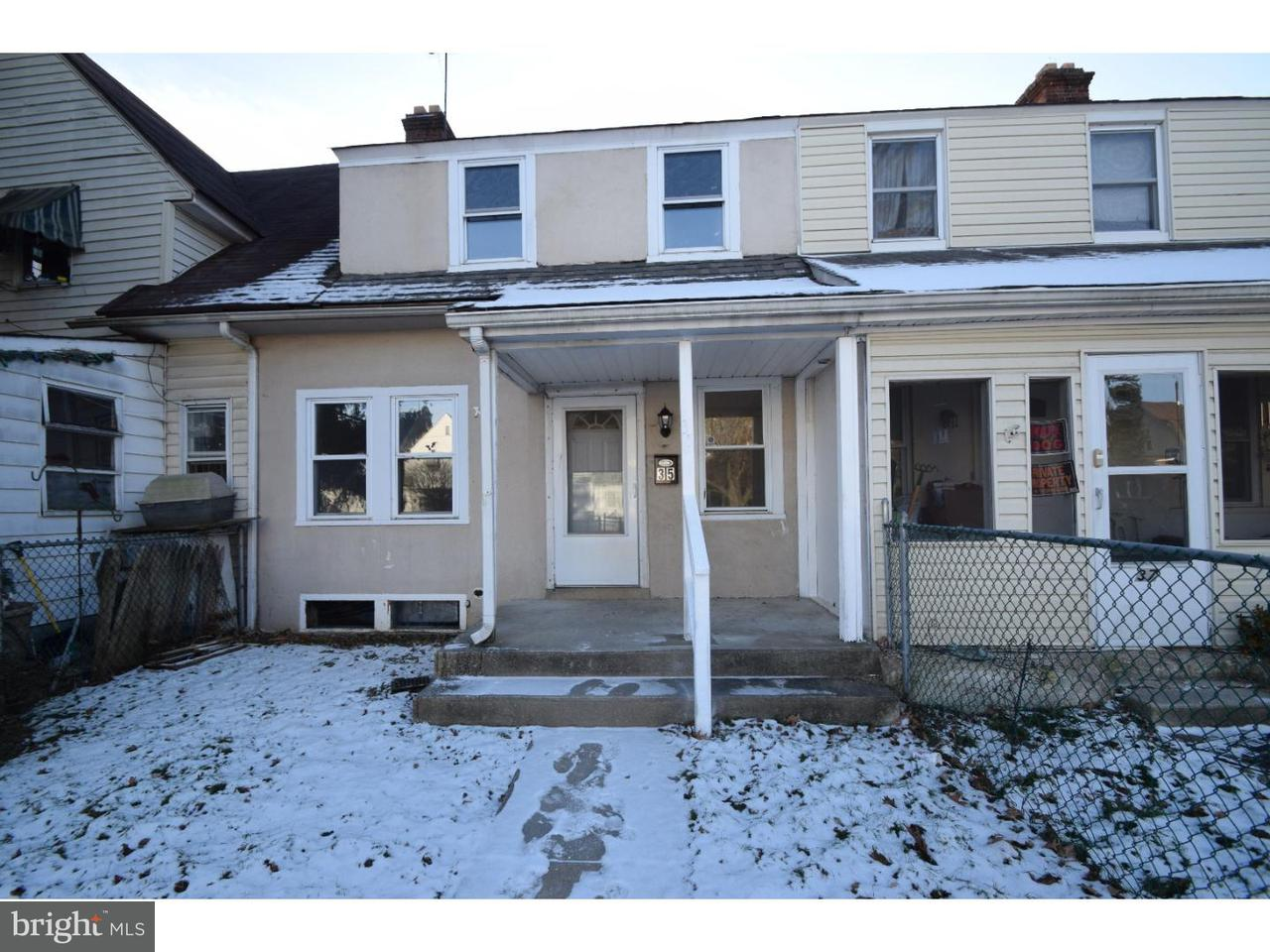 Townhouse for Rent at 35 3RD Avenue Claymont, Delaware 19703 United States