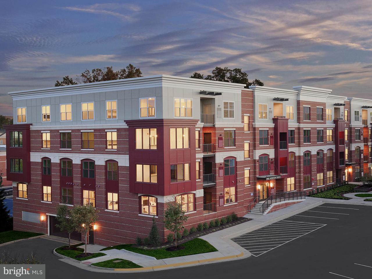 Appartement en copropriété pour l Vente à 3989 Norton Pl #201 3989 Norton Pl #201 Fairfax, Virginia 22030 États-Unis