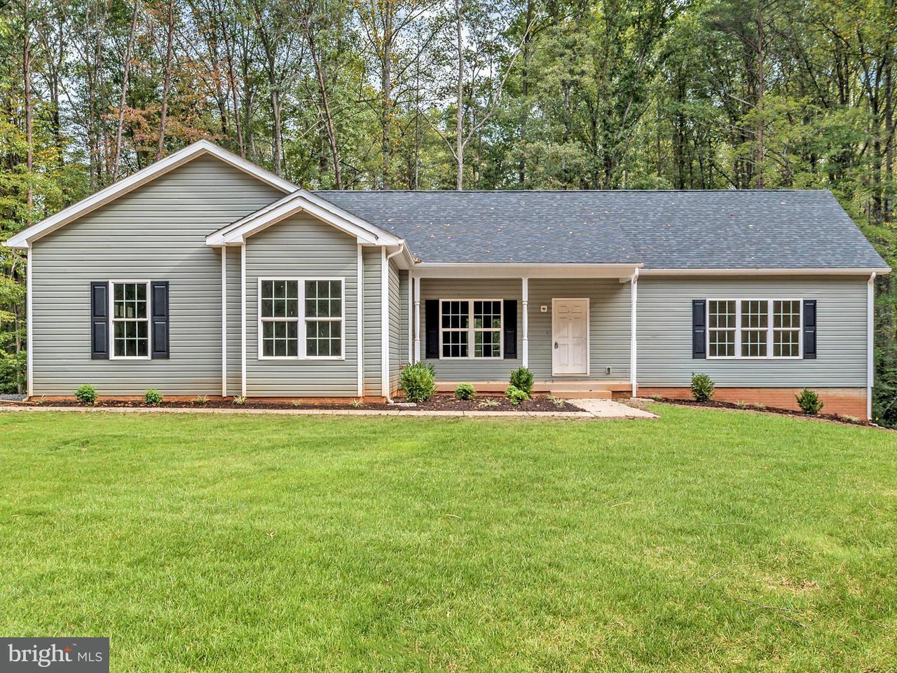 Einfamilienhaus für Verkauf beim 4150 GOLDMINE Road 4150 GOLDMINE Road Goldvein, Virginia 22720 Vereinigte Staaten