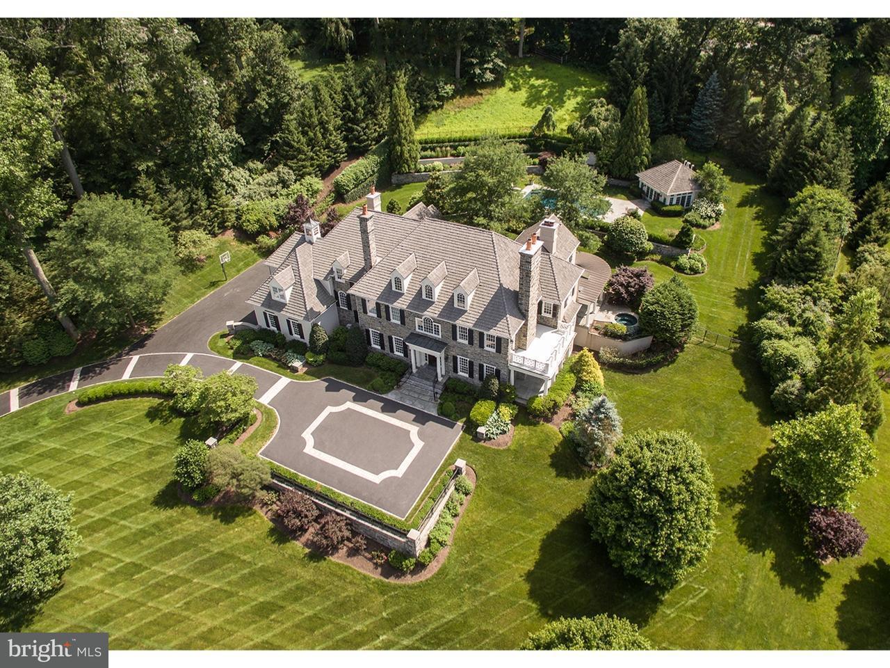 Частный односемейный дом для того Продажа на 103 MILL VIEW Lane Newtown Square, Пенсильвания 19073 Соединенные Штаты