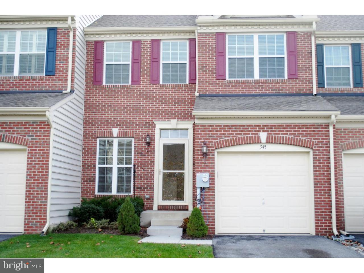 Townhouse for Rent at 345 ELIZABETH Drive Kennett Square, Pennsylvania 19348 United States