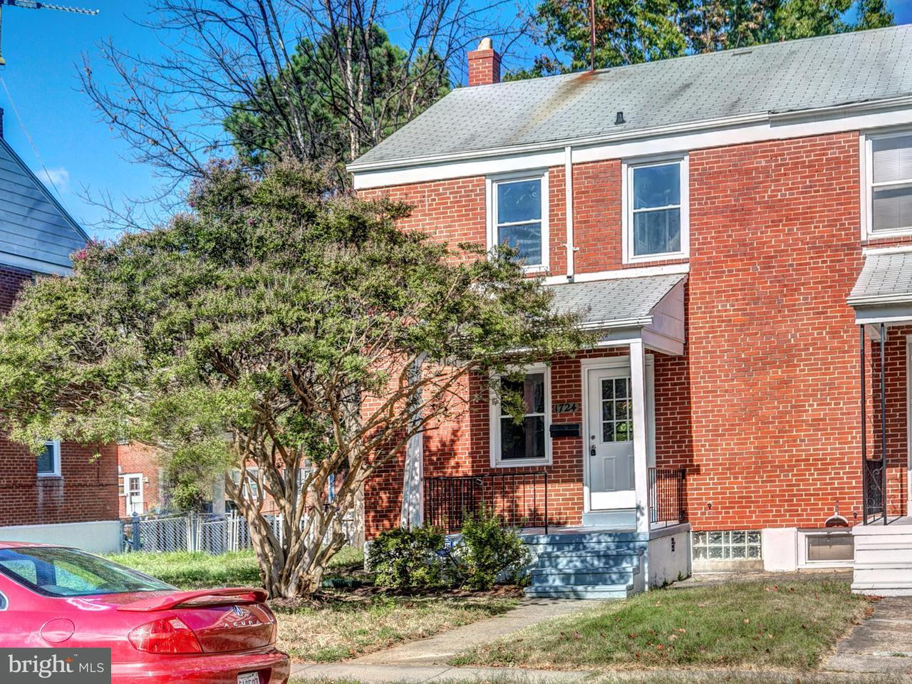 Single Family for Sale at 1724 Sherwood Ave Baltimore, Maryland 21239 United States