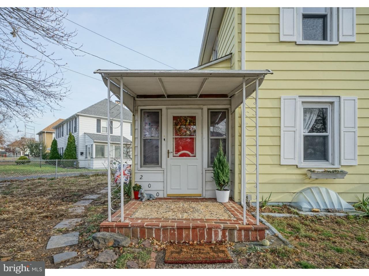 Radhus för Försäljning vid 200 PENNSYLVANIA Road Brooklawn, New Jersey 08030 Usa