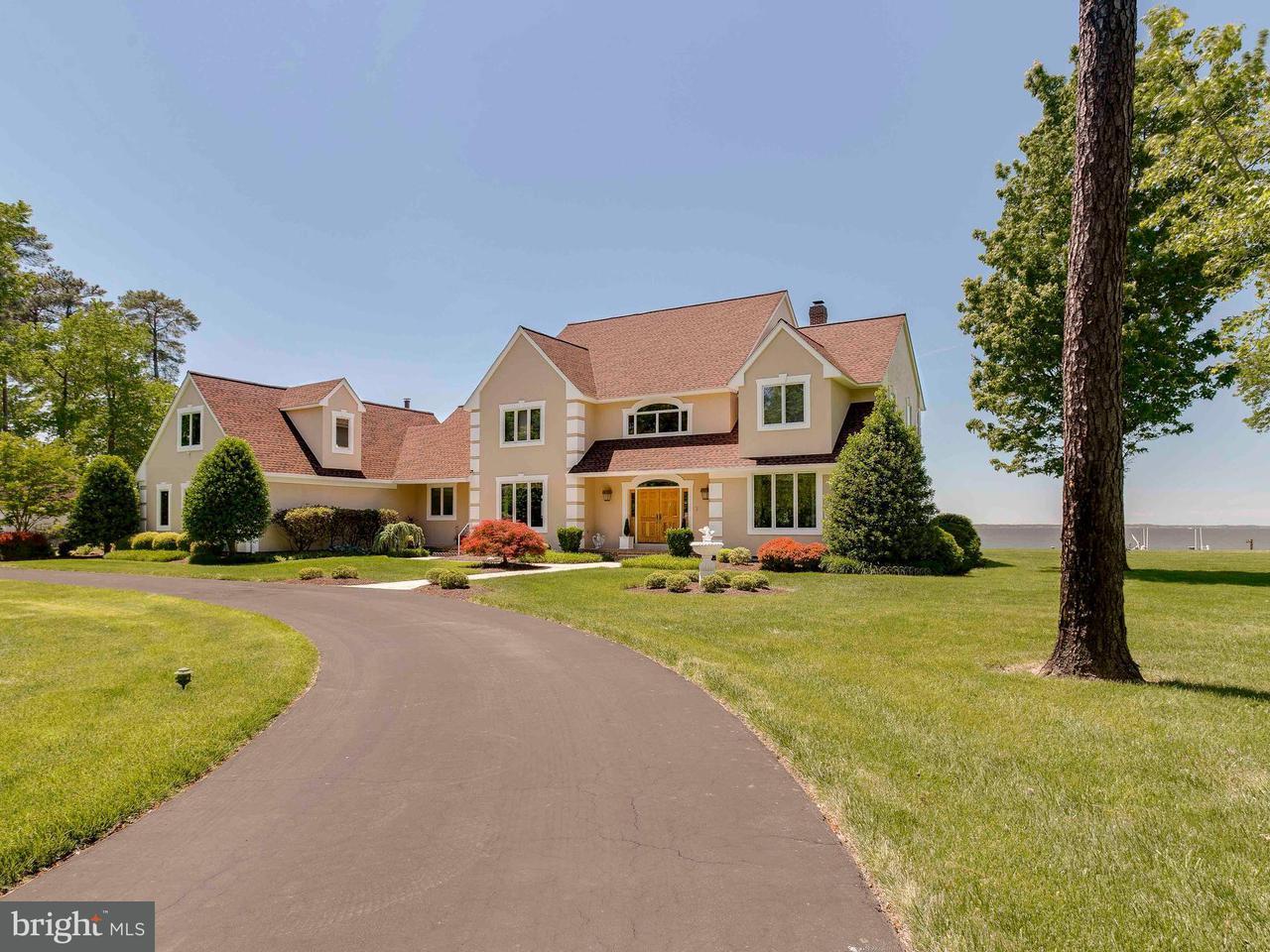 Casa Unifamiliar por un Venta en 209 LIGHTHOUSE VIEW Drive 209 LIGHTHOUSE VIEW Drive Stevensville, Maryland 21666 Estados Unidos