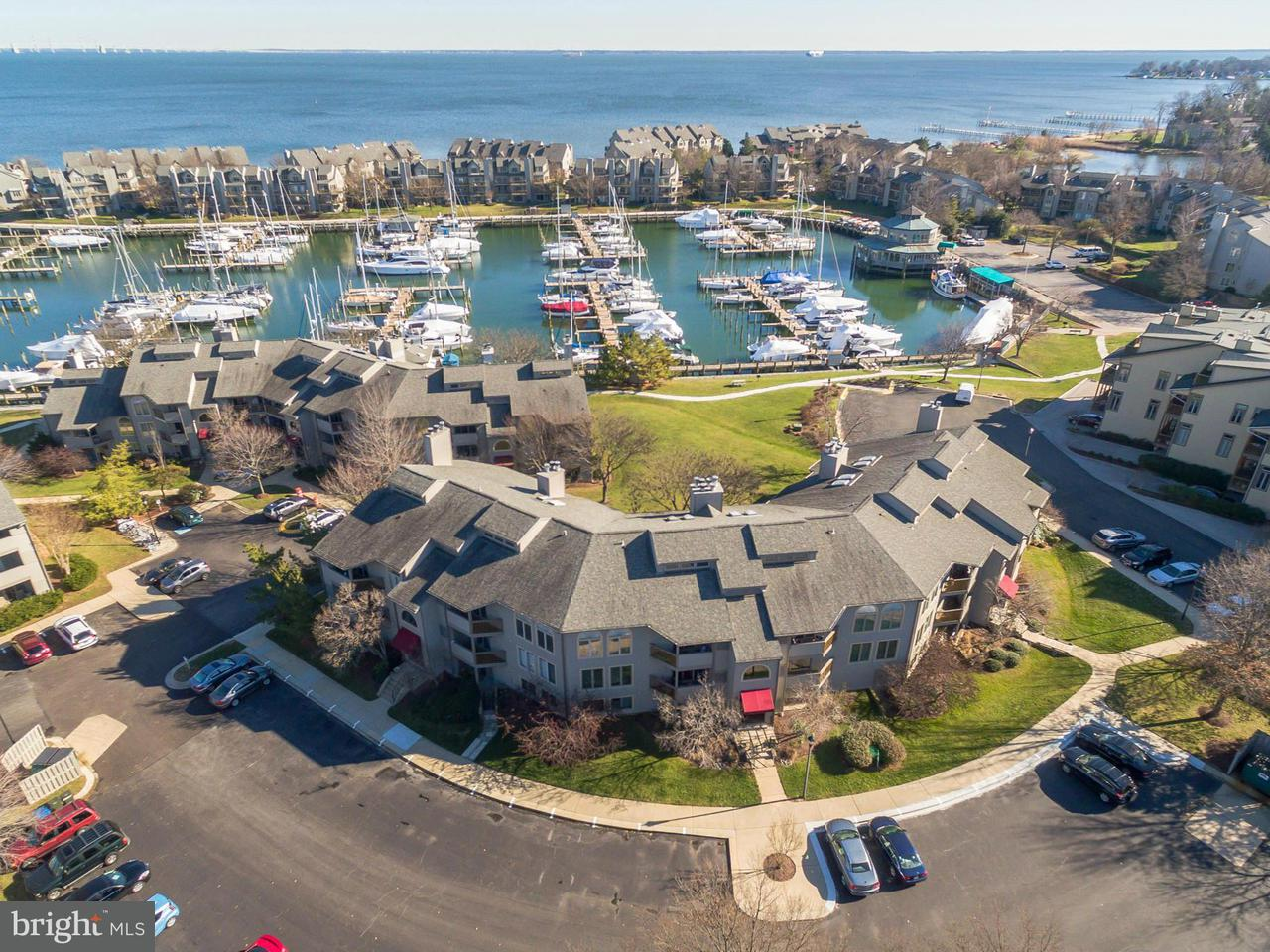 Townhouse for Sale at 7048 HARBOUR VILLAGE CT #102 7048 HARBOUR VILLAGE CT #102 Annapolis, Maryland 21403 United States