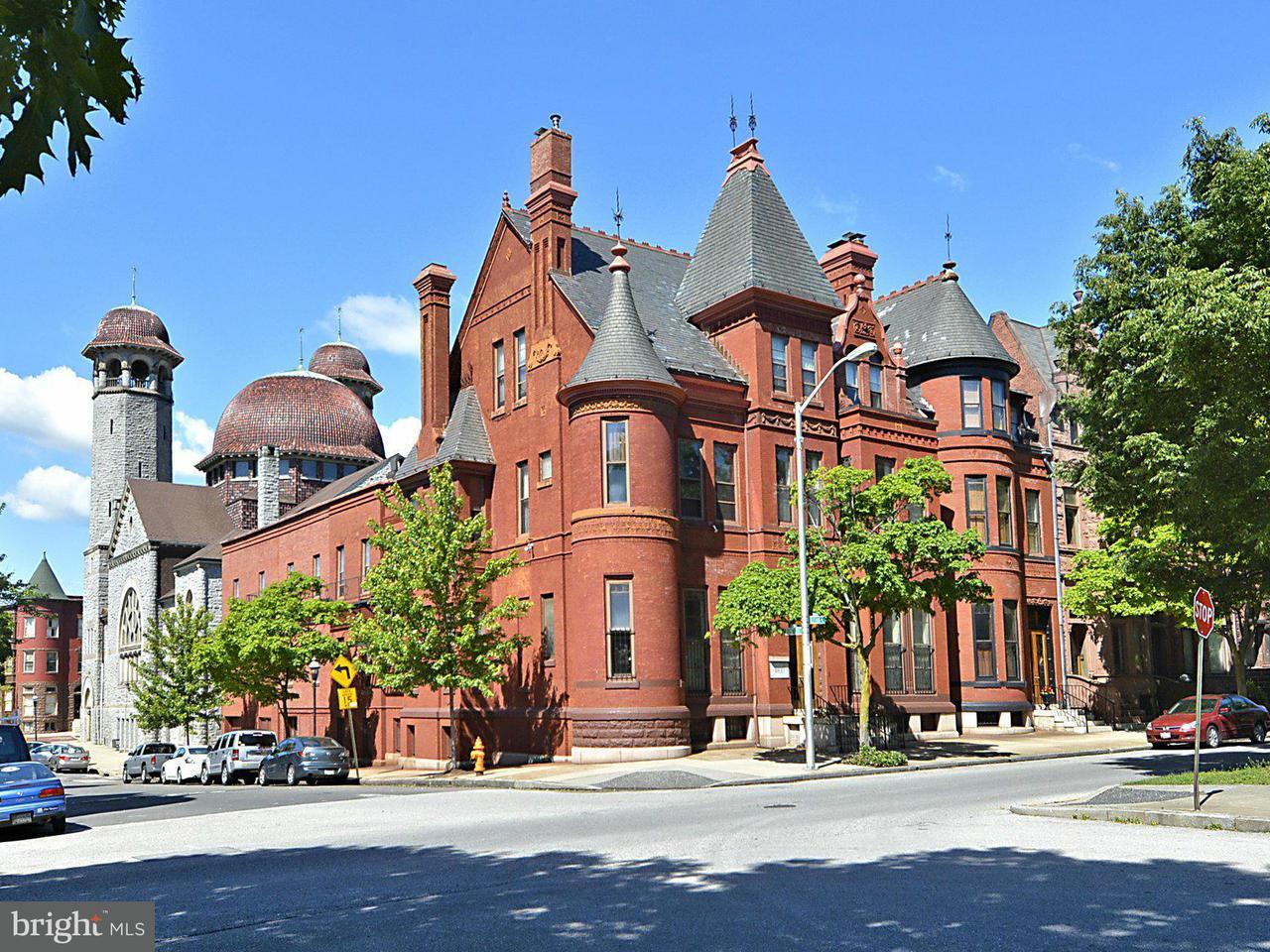 Huis voor meerdere gezinnen voor Verkoop een t 1900 EUTAW Place 1900 EUTAW Place Baltimore, Maryland 21217 Verenigde Staten