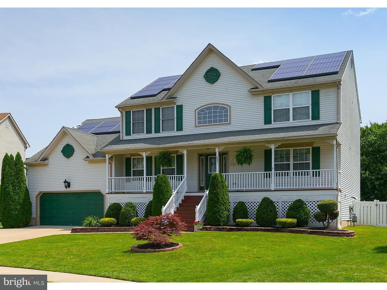 Maison unifamiliale pour l à louer à 331 NEW CASTLE Lane Logan Township, New Jersey 08085 États-Unis