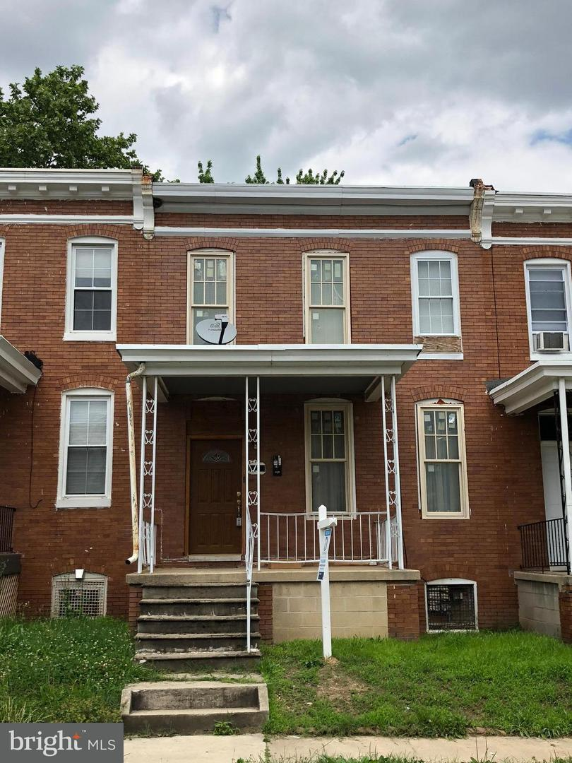Single Family for Sale at 628 Melville Ave Baltimore, Maryland 21218 United States
