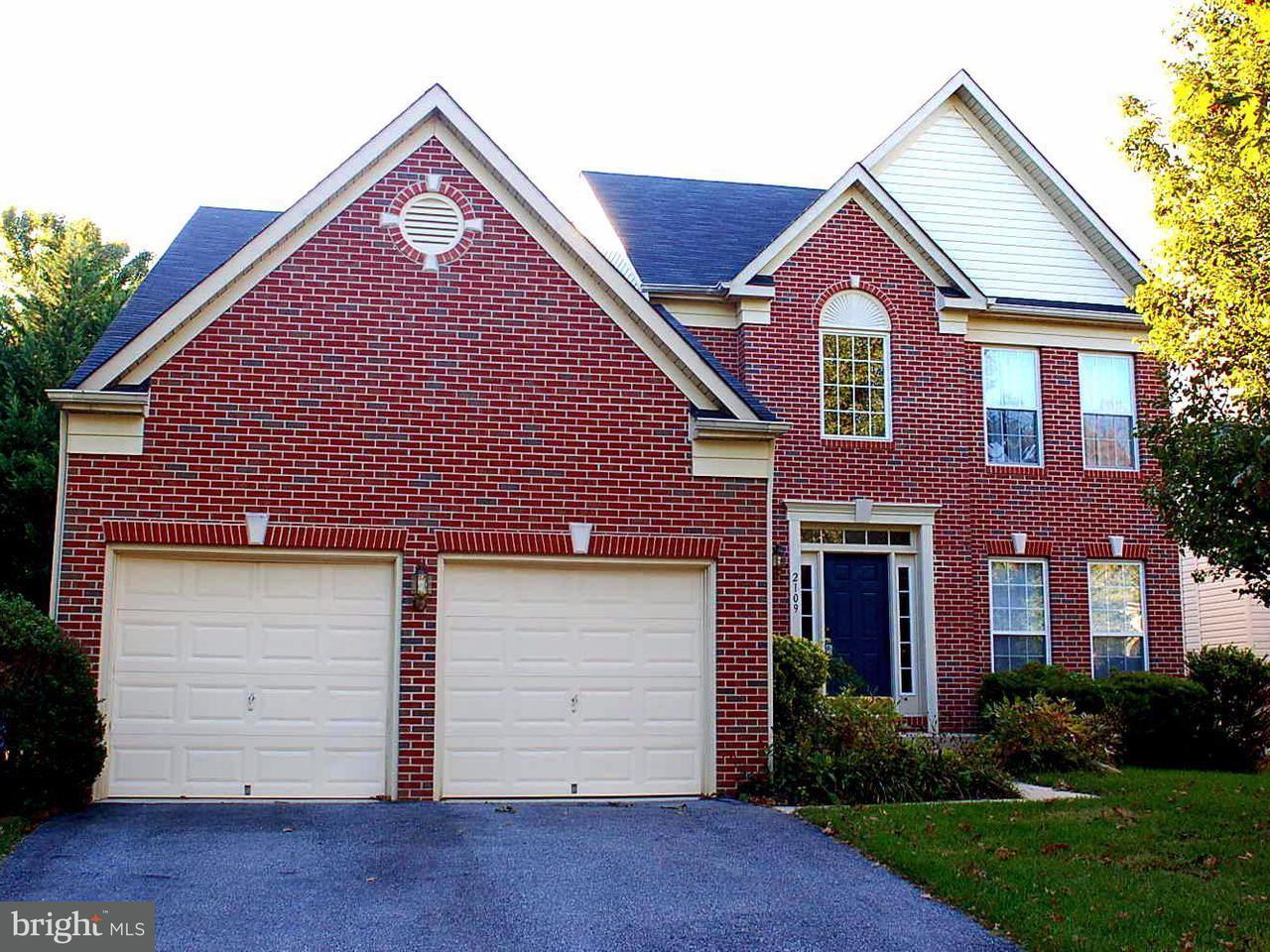 Maison unifamiliale pour l Vente à 2109 ABBOTT WAY 2109 ABBOTT WAY Woodstock, Maryland 21163 États-Unis