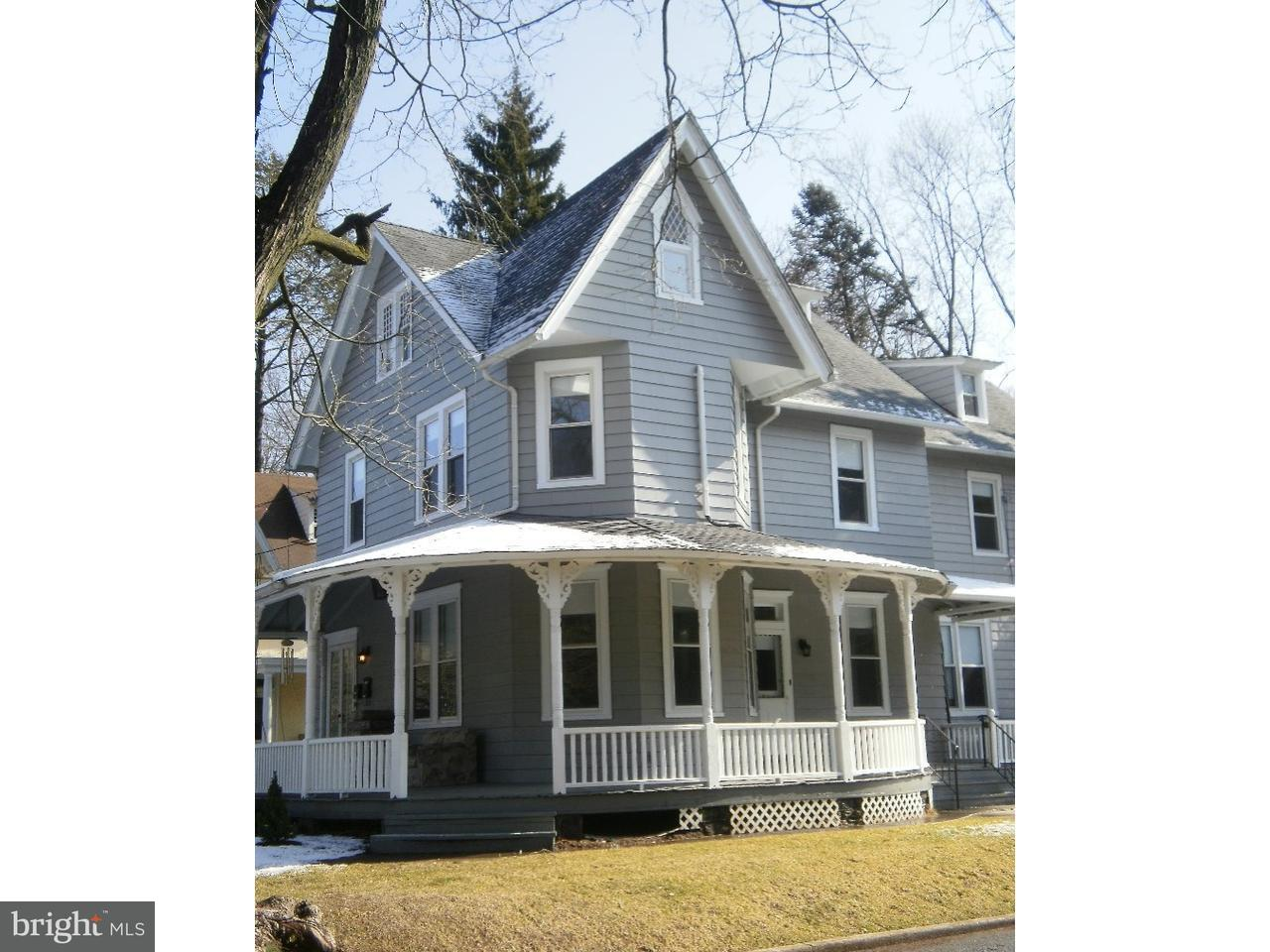 Single Family Home for Rent at 132 E CENTRAL AVE #B Moorestown, New Jersey 08057 United States