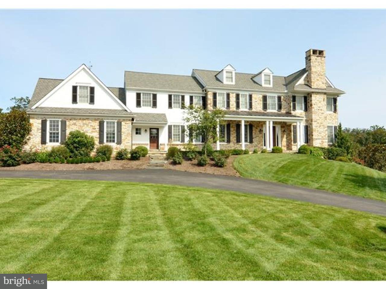 Частный односемейный дом для того Продажа на 105 PAIRED OAKS Lane Greenville, Делавэр 19807 Соединенные Штаты