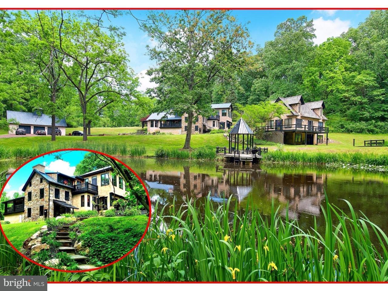 独户住宅 为 销售 在 3590 LENAPE WAY Riegelsville, 宾夕法尼亚州 18077 美国