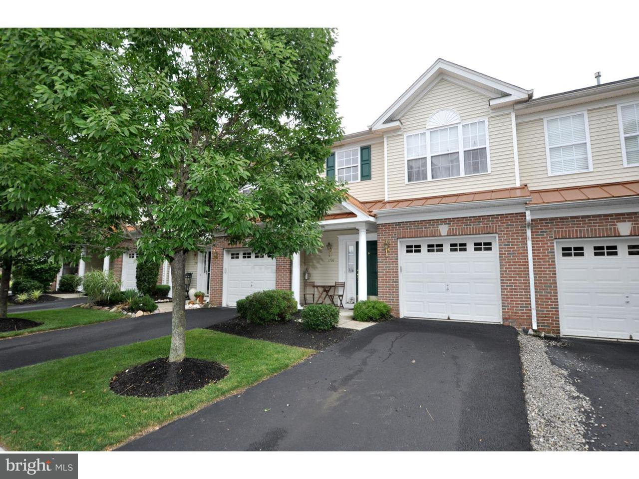 Casa unifamiliar adosada (Townhouse) por un Alquiler en 1708 NATHAN Drive Cinnaminson, Nueva Jersey 08077 Estados Unidos