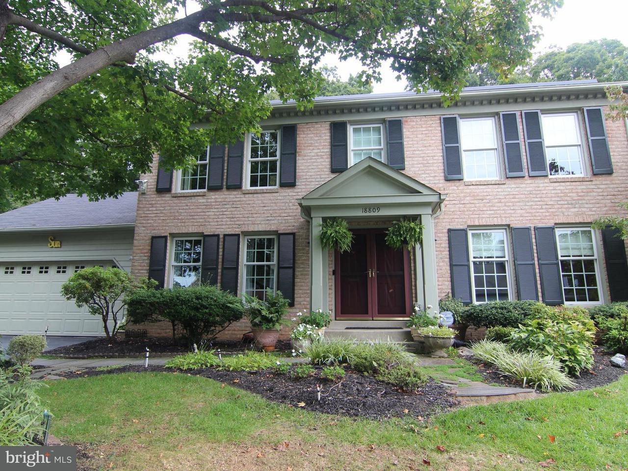 独户住宅 为 销售 在 18809 MEADOW FENCE RD S 18809 MEADOW FENCE RD S Montgomery Village, 马里兰州 20886 美国