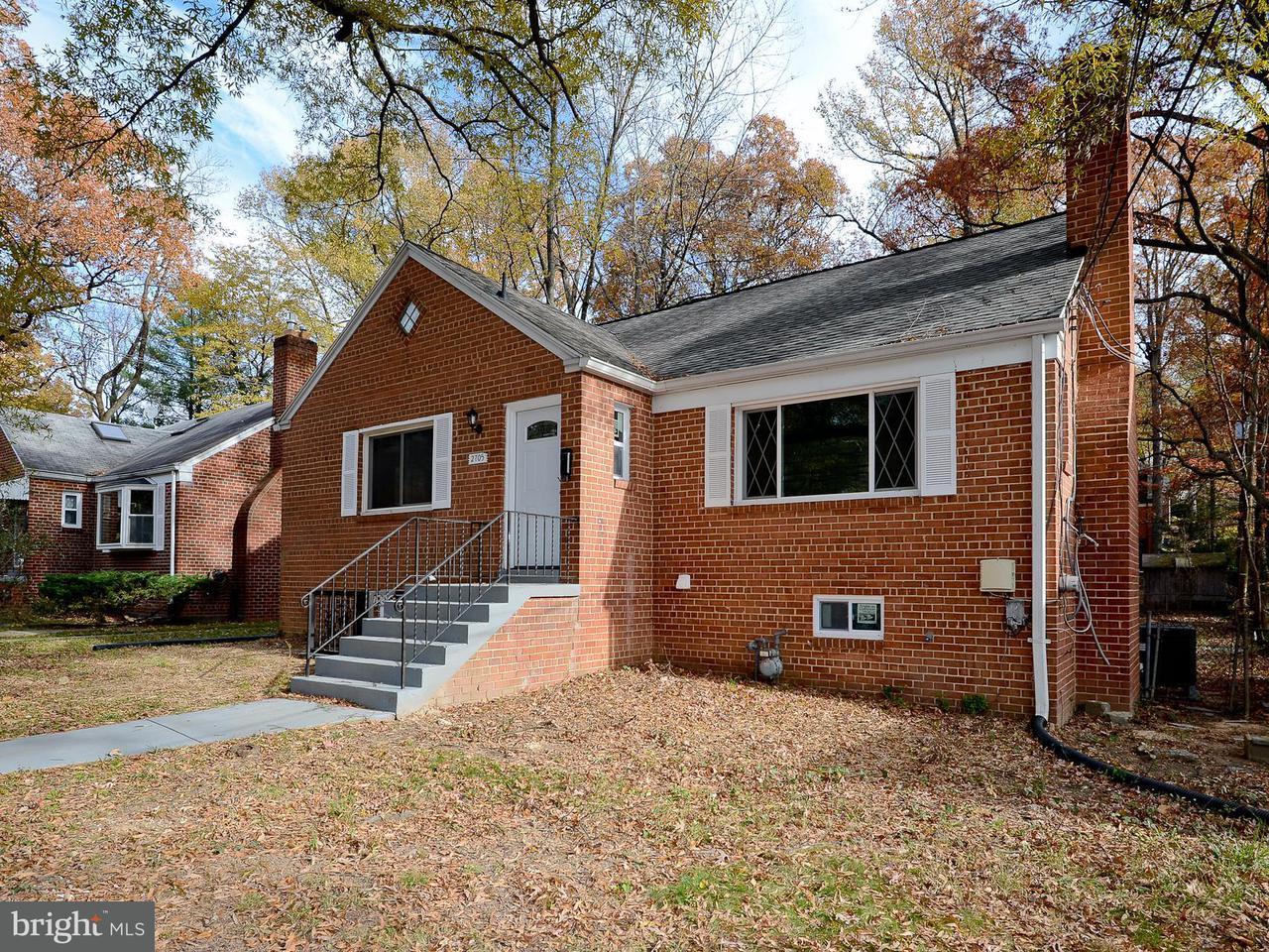 独户住宅 为 销售 在 2705 VALLEY WAY 2705 VALLEY WAY Cheverly, 马里兰州 20785 美国