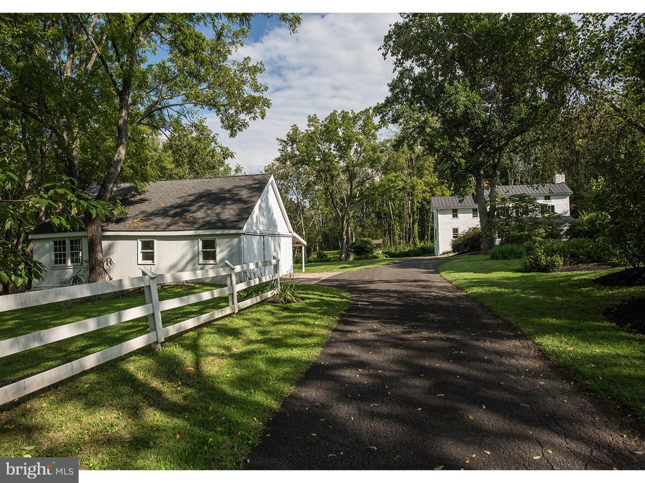 Частный односемейный дом для того Аренда на 3609 CREAMERY Road Furlong, Пенсильвания 18925 Соединенные Штаты