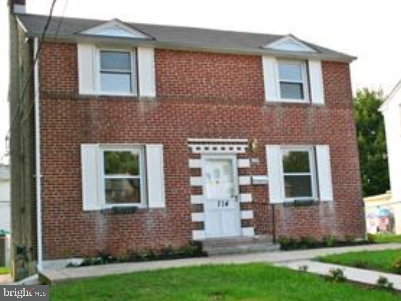 Casa Unifamiliar por un Alquiler en 114 ATLAS Drive New Castle, Delaware 19720 Estados Unidos