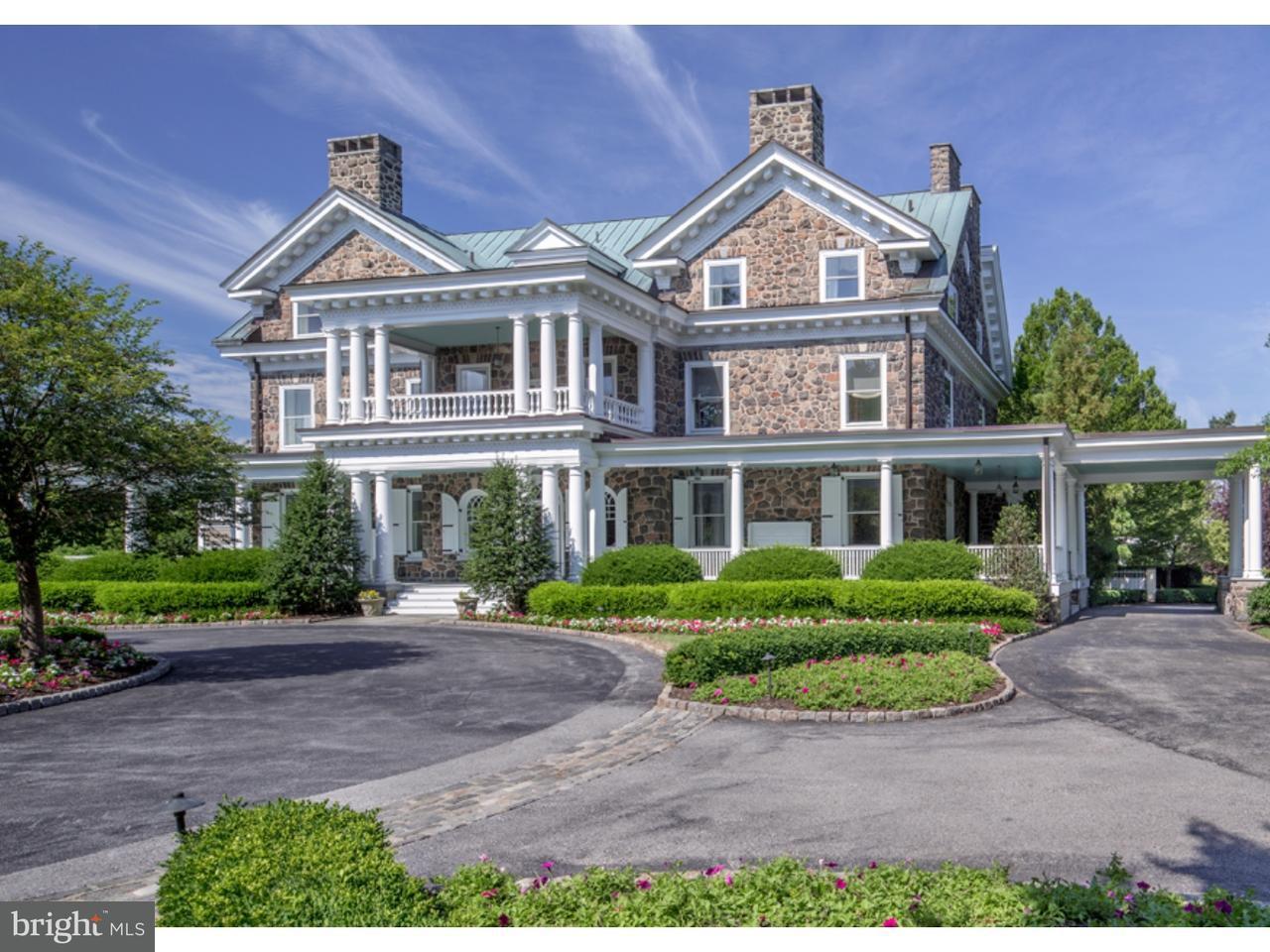 Частный односемейный дом для того Продажа на 500 S WATERLOO Road Devon, Пенсильвания 19333 Соединенные Штаты