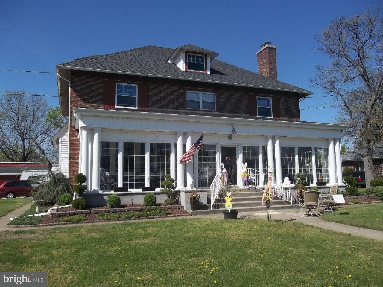 Casa Unifamiliar por un Venta en 420 HEULINGS Avenue Riverside, Nueva Jersey 08075 Estados Unidos