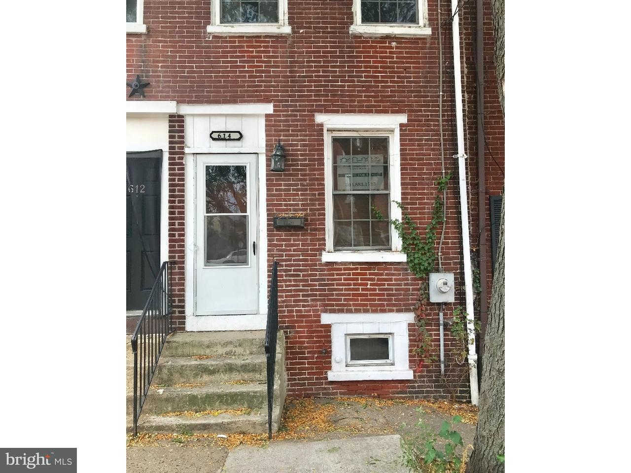 Townhouse for Rent at 614 W 7TH Street Wilmington, Delaware 19801 United States