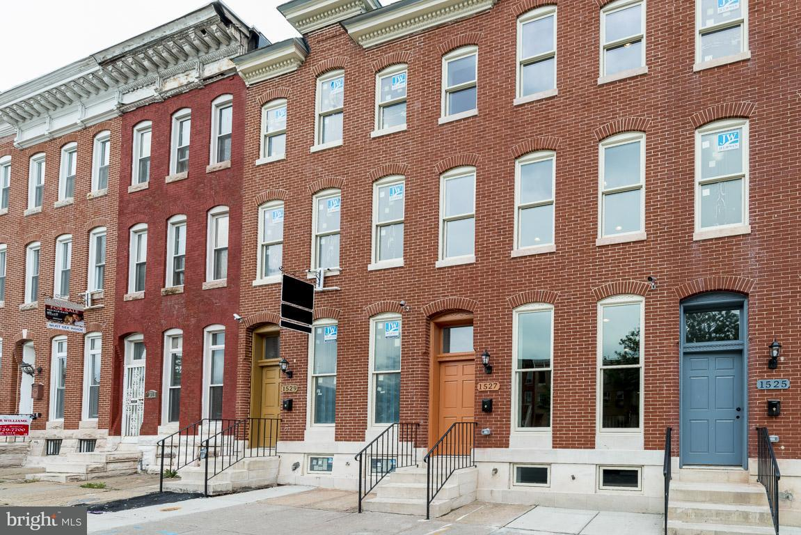 Single Family for Sale at 1513 Broadway Baltimore, Maryland 21213 United States