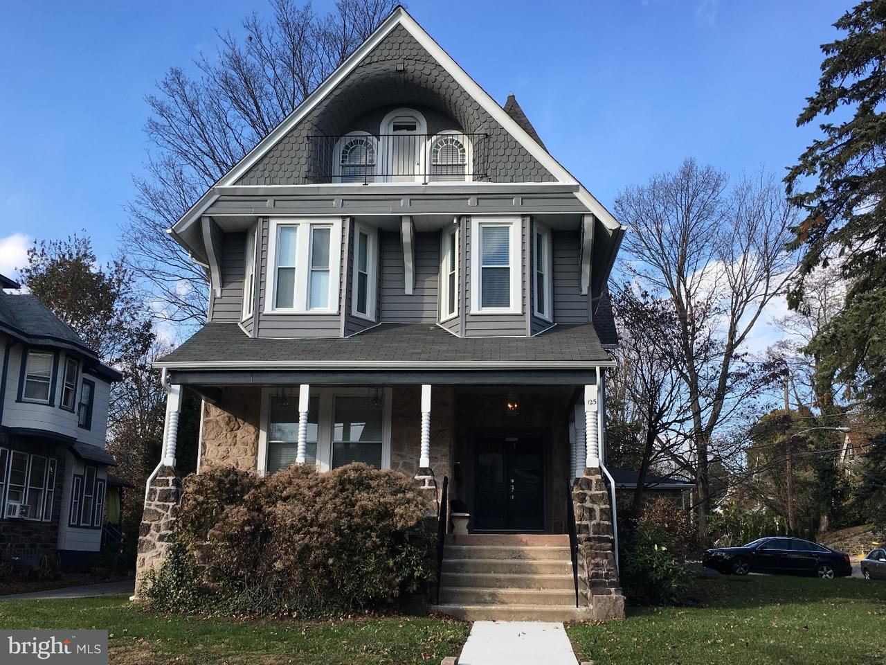 Casa Unifamiliar por un Alquiler en 125 WINDSOR AVE #3RD FL Narberth, Pennsylvania 19072 Estados Unidos