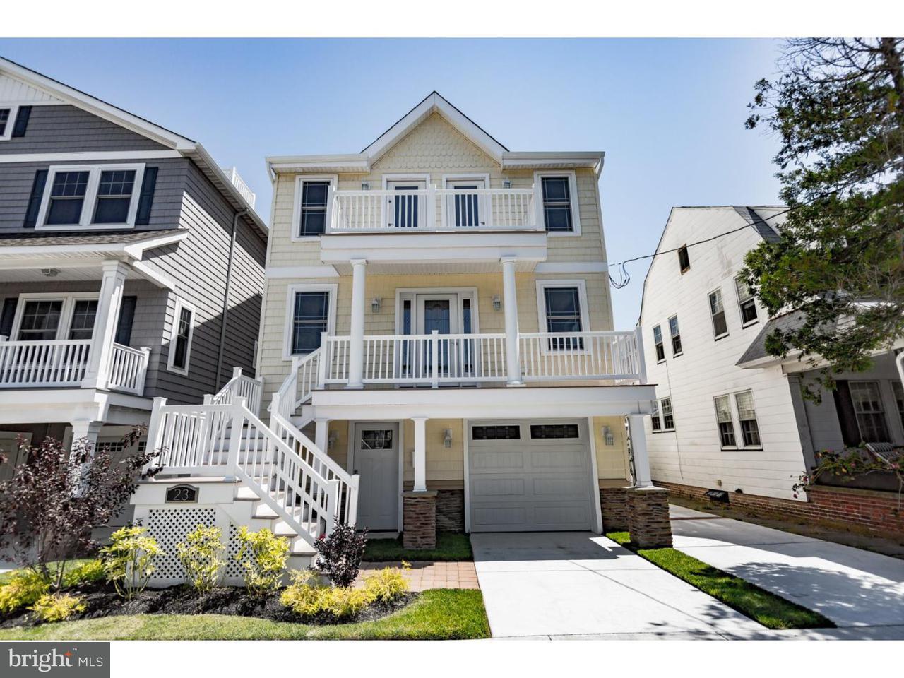 Частный односемейный дом для того Продажа на 23 N CORNWALL Avenue Ventnor City, Нью-Джерси 08406 Соединенные Штаты