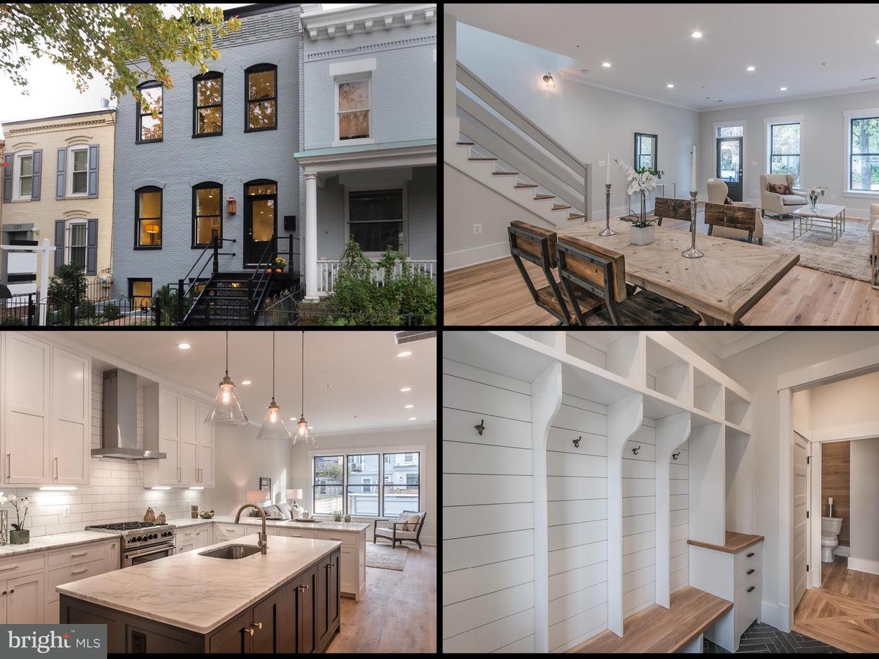 獨棟家庭住宅 為 出售 在 1127 C ST NE 1127 C ST NE Washington, 哥倫比亞特區 20002 美國