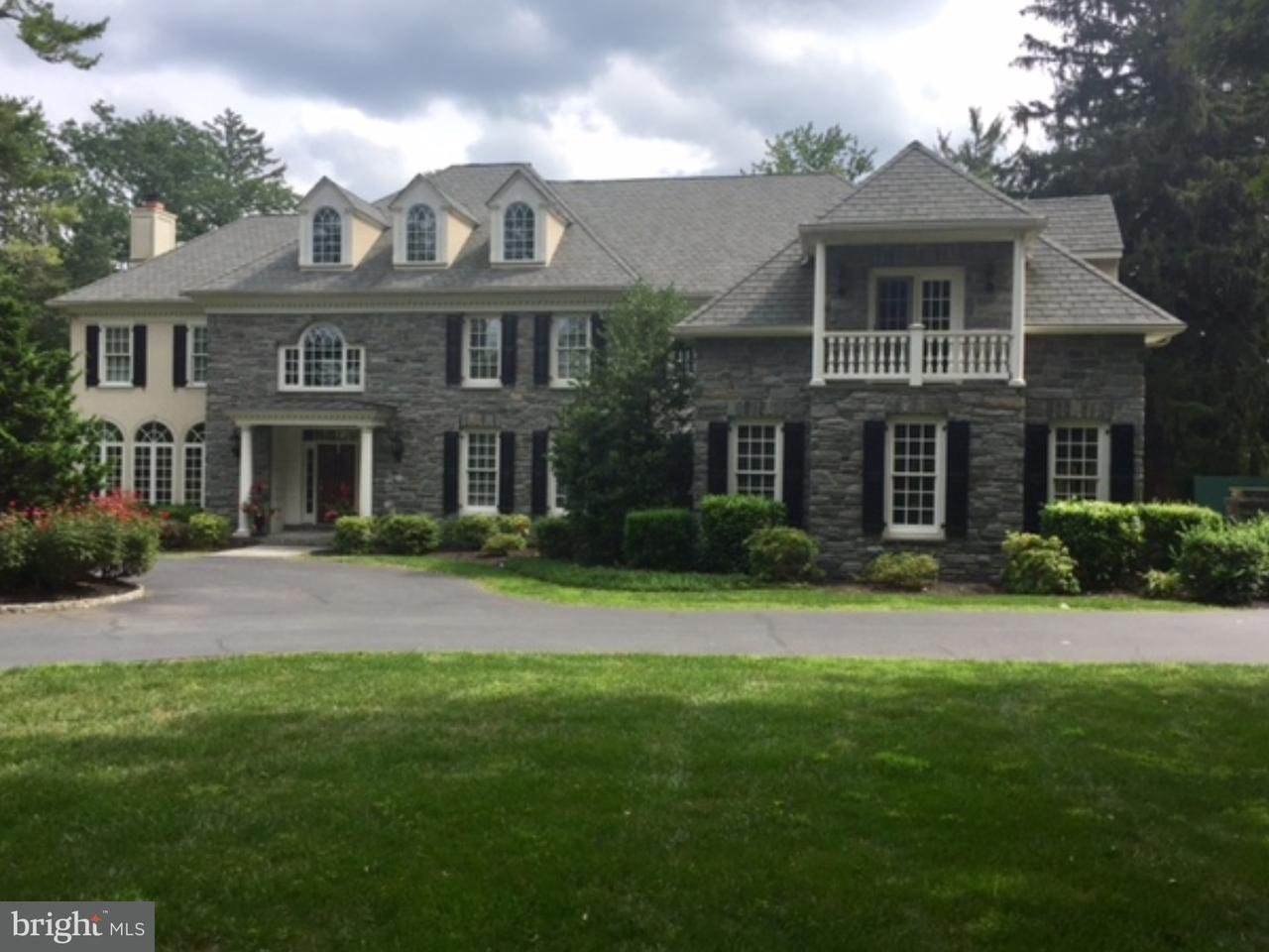 Single Family Home for Sale at 671 CHURCH Road Wayne, Pennsylvania 19087 United States