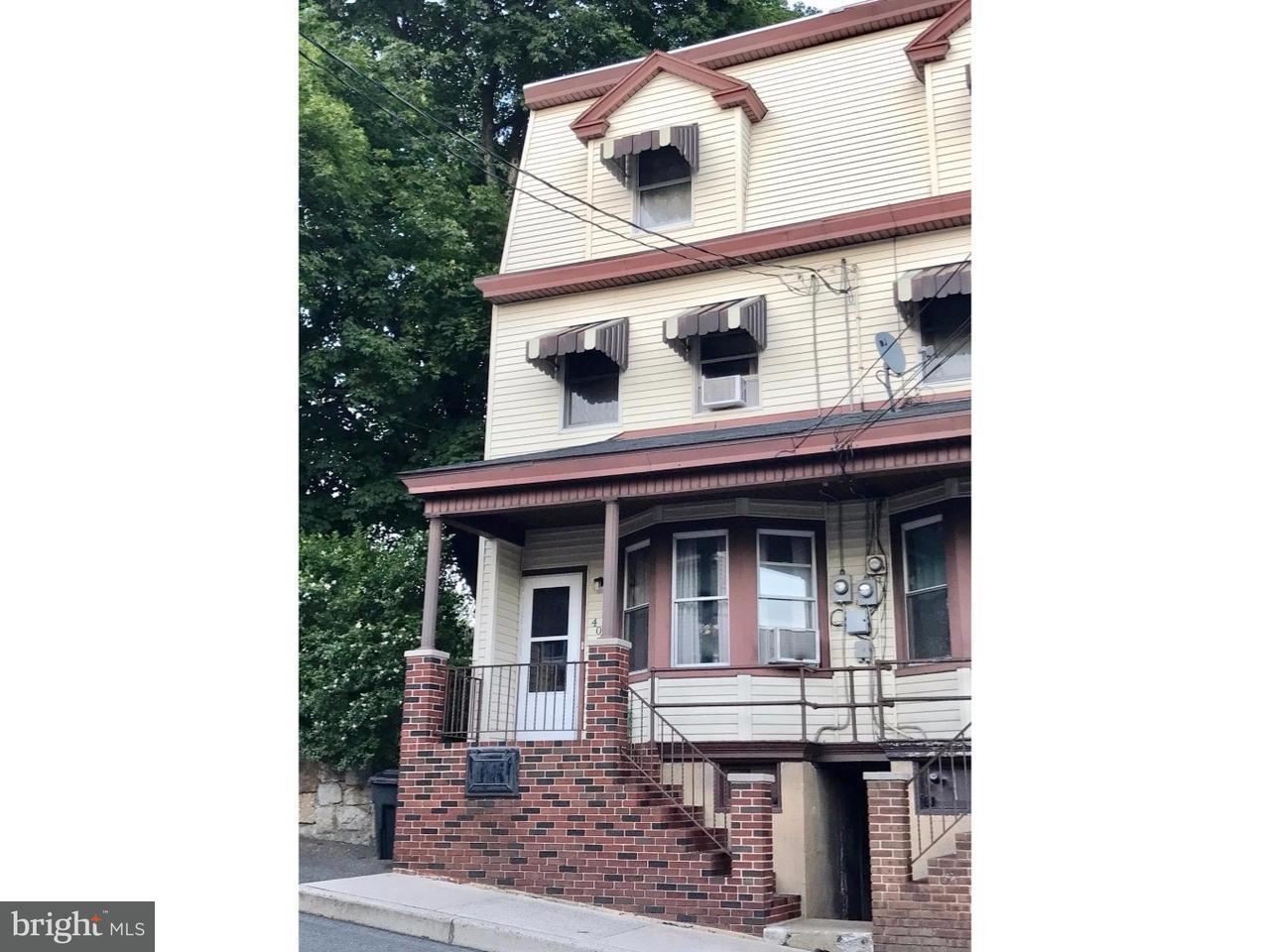 Casa unifamiliar adosada (Townhouse) por un Venta en 407 N 2ND Street Minersville, Pennsylvania 17954 Estados Unidos