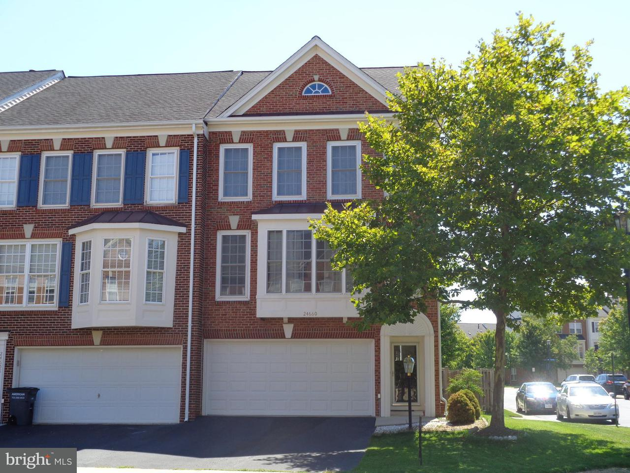 Townhouse for Sale at 24660 NETTLE MILL SQ 24660 NETTLE MILL SQ Aldie, Virginia 20105 United States