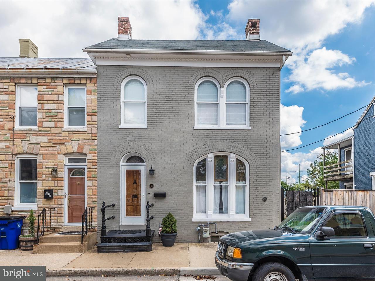 Stadthaus für Verkauf beim 18 WISNER Street 18 WISNER Street Frederick, Maryland 21701 Vereinigte Staaten
